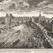 A164 / 264 GABRIEL PERELLE Vue des belles maisons de France. Paris, um 1680. 6 Teile in 1 Band.  CHF 6 000 / 9 000