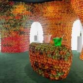 Perrier Jouet Booth Miami 02, by Andrea Mancuso, Design Miami 2019