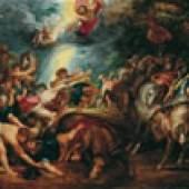 Peter Paul Rubens (1577–1640) Die Bekehrung des Saulus zum Paulus, um 1602–1604  Öl auf Holz Höhe 72 cm, Breite 103 Inv.-Nr. GE 40  © Sammlungen des Fürsten von und zu Liechtenstein, Vaduz–Wien