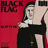 Plattencover Black Flag »Slip It In«, 1984. Foto: Egbert Haneke. sammlung stefan thull.