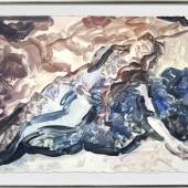 Elizabeth Peyton, A Woman of Fearsome Beauty Bewitched Him (Kundry Waltraud Meyer, Parsifal, The Metropolitan Opera, NYC, 1992), #2, 2013, Monotypie auf Büttenpapier, 45,7 x 55,9 x 5,1 cm, Courtesy: Galerie Neugerriemschneider und Elizabeth Peyton