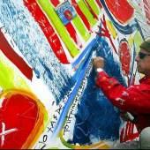 Kiddy Citny, Artist at Work