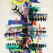 Lucas Suppin - Sonnige Côte d ́Azur Öl auf Platte signiert und datiert 12. 1. 1972 99,5 x 74,5 cm