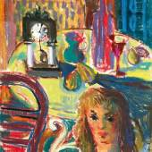 Hans Robert Pippal - La Vie Pastell auf Papier signiert und datiert (19)52 61 x 46,5 cm