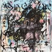 Staudacher Hans Sommer in Millstatt Öl auf Leinwand signiert und datiert 1982 100 x 80 cm