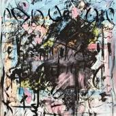 Hans Staufacher - Sommer in Millstatt Öl auf Leinwand signiert und datiert 1982 100 x 80 cm