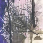 """Eva Wagner Aus der Serie """"Indian White Gouache auf Papier verso signiert und datiert 2020 29,5 x 20,8 cm"""
