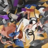 Francis Picabia Edtaonisl (ecclésiastique), 1913 Öl und Metalliclack auf Leinwand, 300,4 x 300,7 cm The Art Institute of Chicago. Gift of Mr. and Mrs. Armand Bartos, 1953 © 2016 ProLitteris, Zürich