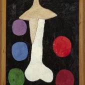 Francis Picabia Égoisme, 1947/48- um 1950 Öl auf Holz im originalen Holzrahmen, 186 x 126,1 x 7 cm, mit Rahmen Museum Boijmans Van Beuningen, Rotterdam © 2016 ProLitteris, Zürich