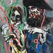 Francis Picabia Mi-Carême, 1925-1926 Öl und Ripolin auf Leinwand, 100 x 81 cm Jeff and Mei Sze Greene Collection © 2016 ProLitteris, Zürich