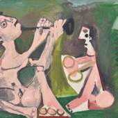 Pablo Picasso Deux Musicien, 1965 Wienerroither & Kohlbacher