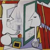 Pablo Picasso, Das Atelier des Künstlers (Das offene Fenster), 1929, Staatsgalerie Stuttgart, © Succession Picasso / VG Bild-Kunst, Bonn 2011