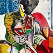 Pablo Picasso, Der Matador, 1970, Öl auf Leinwand, Sammlung Catherine Hutin © Succession Picasso/VG Bild-Kunst, Bonn 2019. Photo: Claude Germain