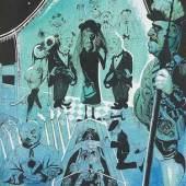 Henri-Georges Adam  Die Familienmitglieder, 1935  Tinte und Aquarell/Karton 29,5 x 24 cm  signiert Adam, datiert 35  Preis: € 6.800,-