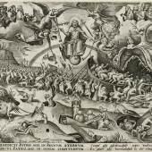 Pieter van der Heyden (1530–1572) nach Pieter Bruegel d. Ä. (1525–1569): Das Jüngste Gericht, 1558, Kupferstich-Kabinett, Staatliche Kunstsammlungen Dresden
