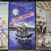 Tafel zu «Piscatore e Pusillico», erste Hälfte 20. Jh. Leimfarbe auf Papier, 149 x 292 cm Sammlung Würth, Künzelsau