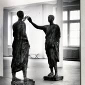 Michelangelo Pistoletto (*1933) L'Etrusco, 1976 Gips, Farbe, Spiegel, Installationsmasse Installationsmasse variabel Courtesy Sammlung Goetz Foto: Victor Dahmen, Köln
