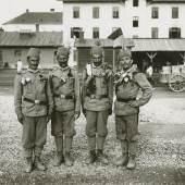 Graz, Ostbahnhof, Einrücken der Bosniaken, 1914,  Dr. Fritz (Friedrich) Kunzelmann,  Inv.-Nr. PL032135 (Multimediale Sammlungen / UMJ)