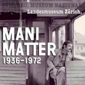 Plakat Mani Matter (1936–1972)