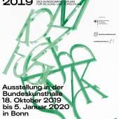 Plakat: BUNDESPREIS FÜR KUNSTSTUDIERENDE