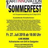Plakat: Sommerausstellung