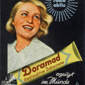 Plakat Zahnpasta Copyright Technisches Museum Wien