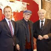 (v.l.n.r.): Dr. Ernst Ploil, Hans Staudacher, Prof. Peter Baum, Fotocredit: Sabine Klimpt