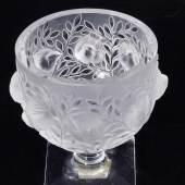 "Pokal-Vase ""Elisabeth"". Lalique/Frankreich, Entwurf von René Lalique, nach 1945. Mindestpreis:90 EUR"