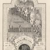 Titelblatt DemolirerPolka Johann Strauß 1862