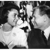 Portrait of Nelson and Happy Rockefeller