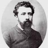 Portrait von Georges Seurat Datum und Fotograf unbekannt