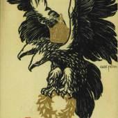 """""""Österreich wird ewig stehn!"""" Postkarte Wien, 1914/1918"""