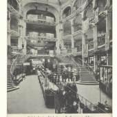 Postkarte Gerngross Innenraum (c) Sammlung Martin Perl