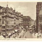Postkarte Stephansplatz Kaufhaus Rothberger (c) Sammlung Eduard Konrad