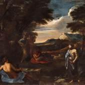Nr. 349 658 Nicolas Poussin Apoll und Marsyas Öl auf Leinwand, 73,5 x 90 cm Schätzpreis: € 300.000 – 400.000,-