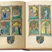 Faksimile-Edition des Peterborough Psalter, (c) Quaternio Verlag Luzern