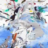 Interpuncties P12 (Le Mont Analogue), 2015 Öl und Mischtechnik auf Leinwand, 200 x 180 cm © Virginie Bailly, Foto Cedric Verhelst