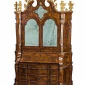 Prachtvoller Schreibschrank im venezianischen Rokokostil, Ausrufpreis: 14000 Euro