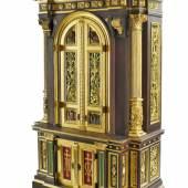 Prächtiger Tabernakel, Renaissance-Stil, süddeutsch, um 1880.