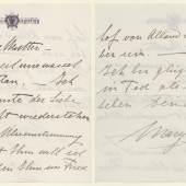 Abschiedsbrief von Mary Vetsera an ihre Mutter