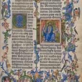 """Illustration aus der """"Goldenen Bulle"""" © Österreichische Nationalbibliothek"""