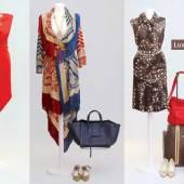 Vintage Mode Schmuck Luxus- Accessoires