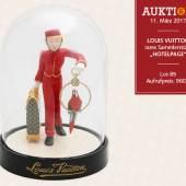 """LOUIS VUITTON rares Sammlerstück """"HOTELPAGE""""."""