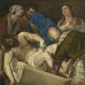 Tiziano Vecellio, gen. Tizian Grablegung Christi, nach 1557 © Kunsthistorisches Museum Wien, Gemäldegalerie, 2013 Foto: Fotoatelier, Kunsthistorisches Museum