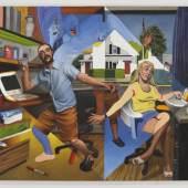 Pieter Schoolwerth Pieter Schoolwerth »Abstraction«, 2005  Pieter Schoolwerth »Abstraction«, 2005 Öl auf Leinwand Sammlung Margret und Daniel S. Loeb, New York