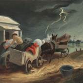 Thomas Hart Benton, Missouri Spring Courtesy of Questroyal Fine Art, LLC, New York