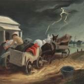Thomas Hart Benton, Missouri Spring Courtesy of Questroyal Fine Art, LLC, New York