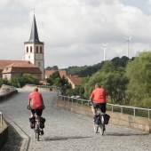 Die Brücke der Einheit nach Vacha, Foto: Jürgen Ritter