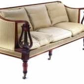 Rare Campaign Sofa