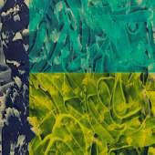 David Reed (1946)  500   2000 – 2003   Öl und Acryl auf Leinwand   247 x 141 cm Taxe: 50.000 – 70.000 €